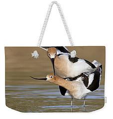 American Avocets Weekender Tote Bag by Bryan Keil