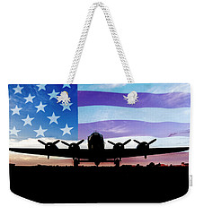 American B-17 Flying Fortress Weekender Tote Bag