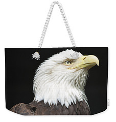 American Bald Eagle Profile Weekender Tote Bag