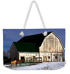 American Barn Weekender Tote Bag by Desiree Paquette
