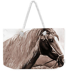 American Beauty Antique Weekender Tote Bag by Shana Rowe Jackson