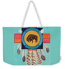 American Bison Dreamcatcher Weekender Tote Bag