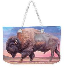 American Buffalo Weekender Tote Bag