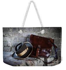 American Civil War Hat And Sack Weekender Tote Bag