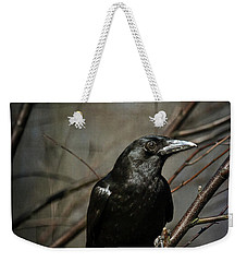 American Crow Weekender Tote Bag by Lois Bryan