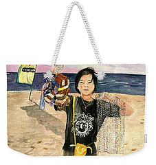 American Dream Girl Weekender Tote Bag by Melly Terpening