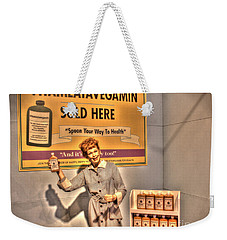 American Entertainment Icons - The First Lady Of Comedy Weekender Tote Bag