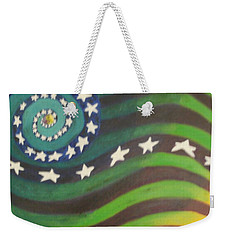 American Flag Reprise Weekender Tote Bag