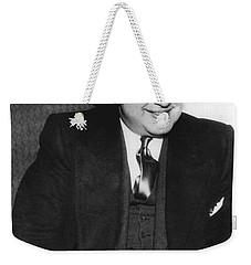 American Gangster Al Capone Weekender Tote Bag