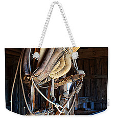 Weekender Tote Bag featuring the photograph American History by Jim Garrison