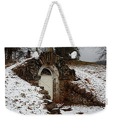 American Hobbit Hole Weekender Tote Bag by Michael Porchik