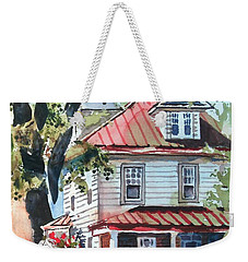 American Home With Children's Gazebo Weekender Tote Bag