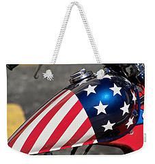 American Motorcycle Weekender Tote Bag