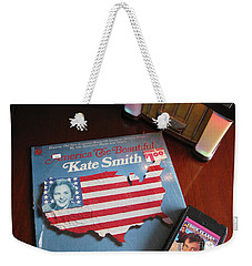 Weekender Tote Bag featuring the photograph American Music by Michael Krek