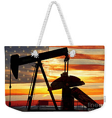 American Oil  Weekender Tote Bag by James BO  Insogna