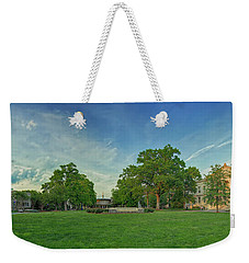 American University Quad Weekender Tote Bag