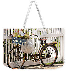 Americana Weekender Tote Bag by Art Block Collections
