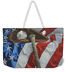 America's Game Weekender Tote Bag