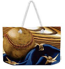 America's Pastime 3 Weekender Tote Bag