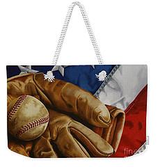 America's Pastime Weekender Tote Bag