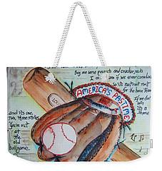 Americas Pastime II Weekender Tote Bag