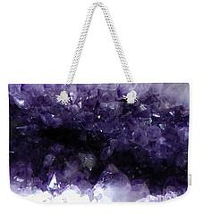 Amethyst Geode Weekender Tote Bag