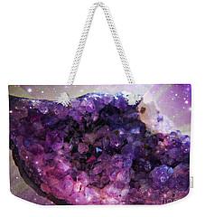 Amethyst  Weekender Tote Bag by Leanne Seymour