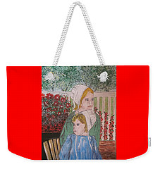 Amish Girls Weekender Tote Bag