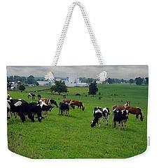 Amish Pastureland  Weekender Tote Bag