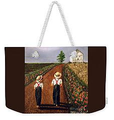 Amish Road Weekender Tote Bag