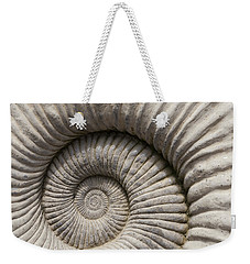 Ammonites Fossil Shell Weekender Tote Bag
