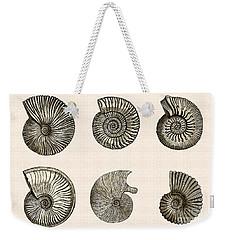 Ammonites Weekender Tote Bag
