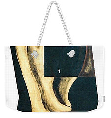 Weekender Tote Bag featuring the painting Amnesia by Fei A