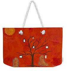 Amoeba Weekender Tote Bag by Stefanie Forck