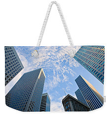 Among The Giants Weekender Tote Bag by Jonathan Nguyen