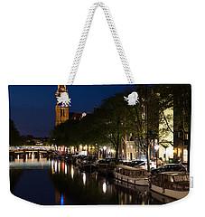 Amsterdam Blue Hour Weekender Tote Bag