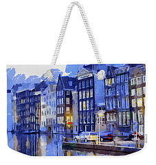 Amsterdam With Blue Colors Weekender Tote Bag