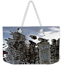 Weekender Tote Bag featuring the photograph Amsterdam Reflections 2 by Andy Prendy