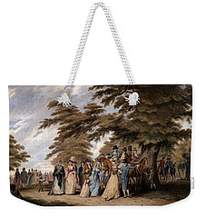 An Airing In Hyde Park, 1796 Weekender Tote Bag by Edward Days