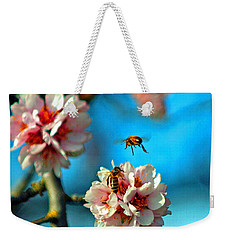 An Almond Pollen Day Weekender Tote Bag