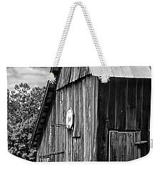An American Barn Bw Weekender Tote Bag by Steve Harrington