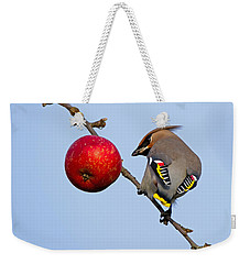An Apple A Day... Weekender Tote Bag by Torbjorn Swenelius