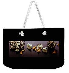 An Assortment Of Mushrooms Weekender Tote Bag