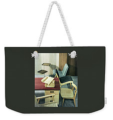 An Assortment Of Office Furniture Weekender Tote Bag