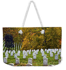An Autumn Day In Arlington Weekender Tote Bag