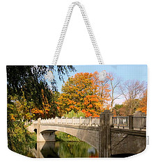 An Autumn Scene Weekender Tote Bag