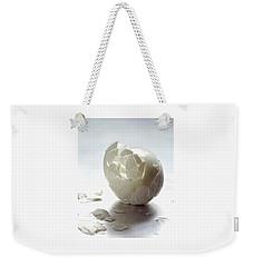 An Egg Shell Weekender Tote Bag