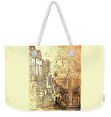An English Fishing Village Weekender Tote Bag