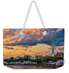 An Evening In Dc Weekender Tote Bag