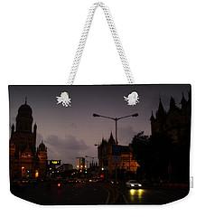 Weekender Tote Bag featuring the photograph Mumbai by Salman Ravish